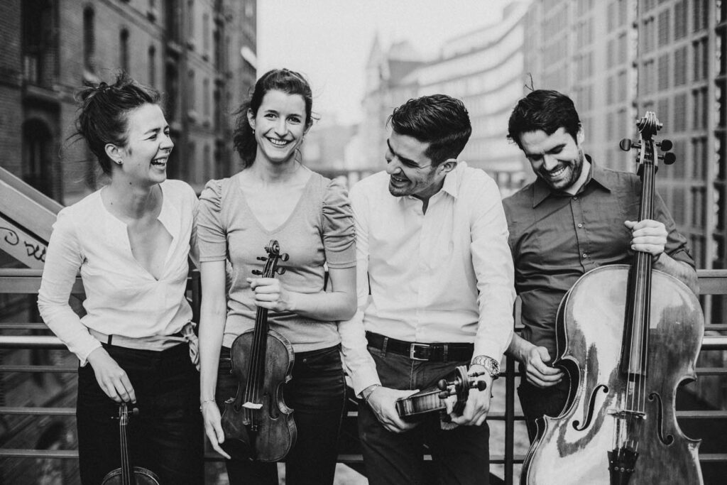 Aris Quartett© Sophie Wolter